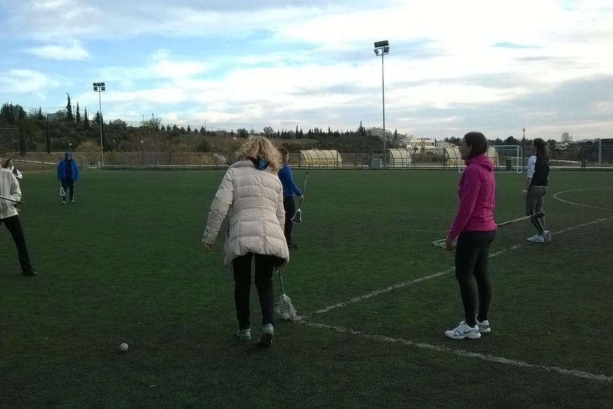 Πρακτική εξάσκηση στο Lacross